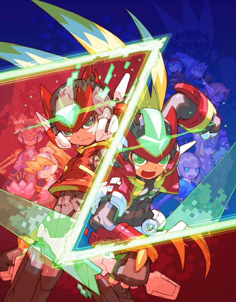 Mega Man ZeroZX Legacy Collection Arte