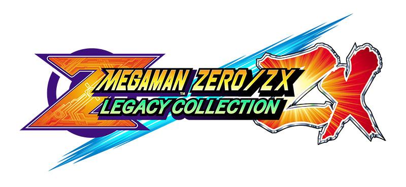 Mega Man ZeroZX Legacy Collection logo