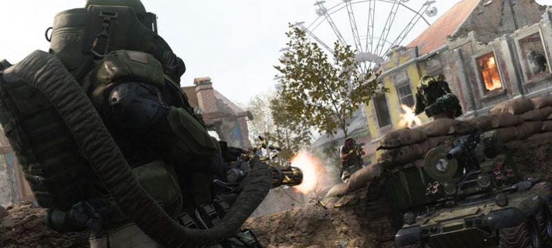 Modo multijugador Modern Warfare