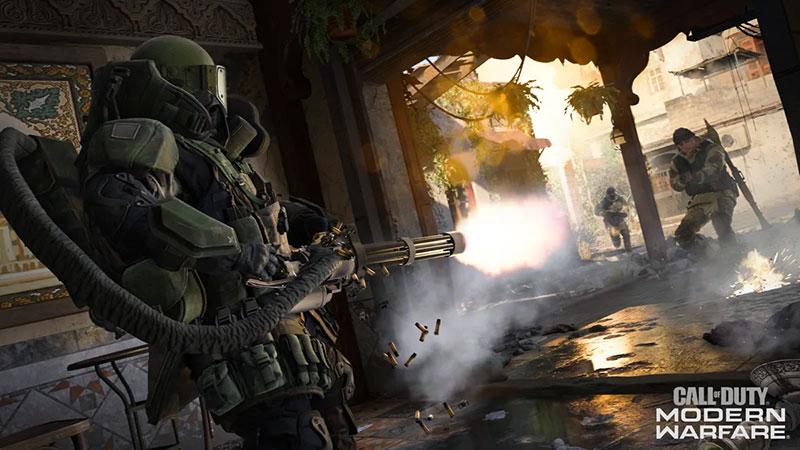 Modo multijugador Modern Warfare avance