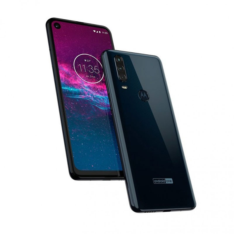 Motorola One Action filtrado negro