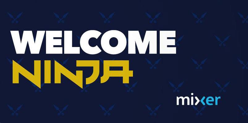 Ninja, el streamer más famoso, se une a la plataforma Mixer de Microsoft