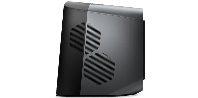 Nueva Alienware Aurora costado ventiladores
