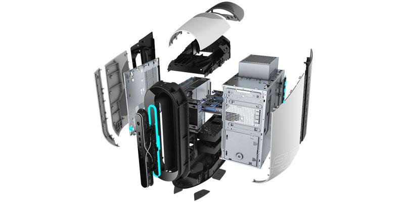 Nueva Alienware Aurora interior