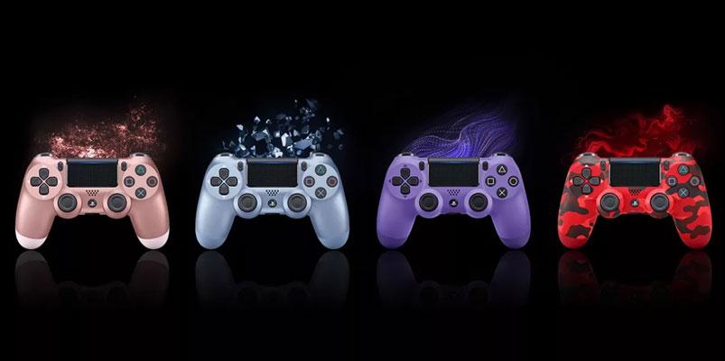 El control DualShock 4 estrena cuatro nuevos colores para el otoño