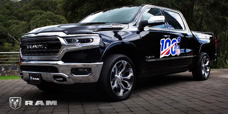 Dodge y Ram son los vehículos oficiales de la NFL 2019
