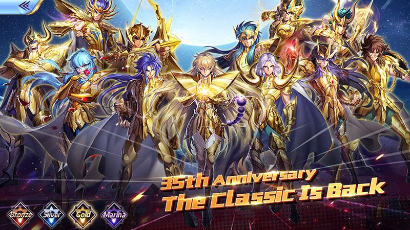 Saint Seiya Awakening Knights of the Zodiac Android