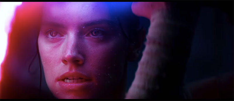 Star Wars Episodio IX The Rise of Skywalker D23 Rey oscuro