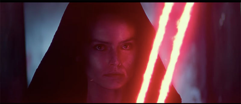 Star Wars Episodio IX The Rise of Skywalker D23 Rey vision