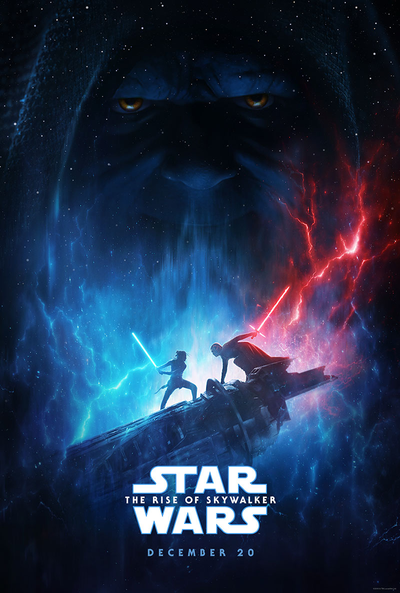 Star Wars Episodio IX The Rise of Skywalker D23 poster