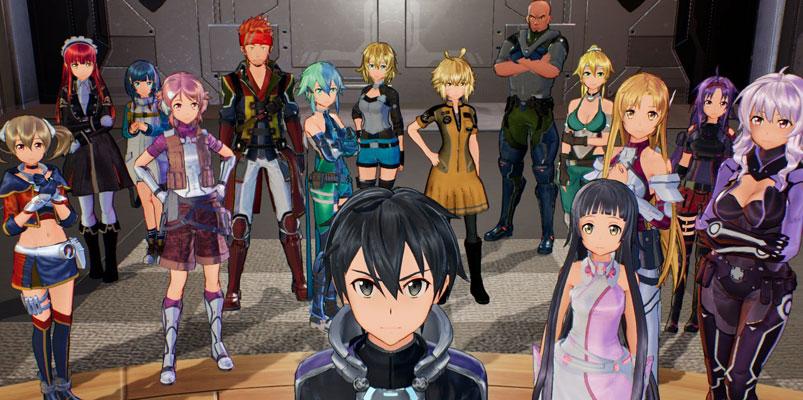 El nuevo juego de Sword Art Online que ya está en Nintendo Switch