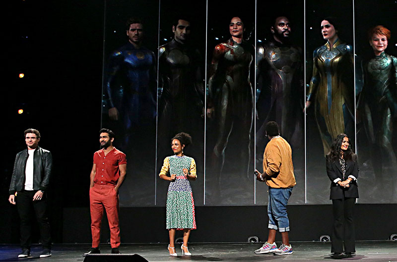 The Eternals elenco D23