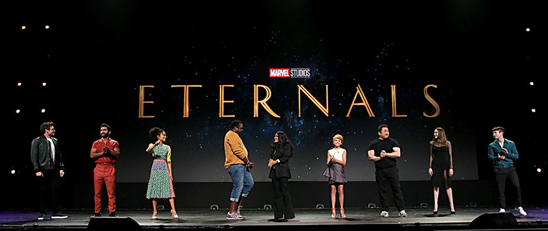 The Eternals elenco