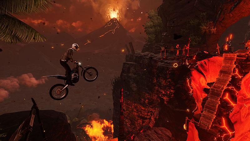 Trials Rising Crash & Sunburn fuego