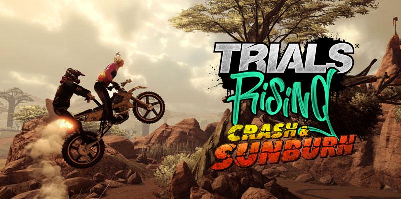 Trials Rising Crash & Sunburn, diversión pura a partir de septiembre