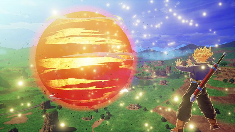 Trunks DRAGON BALL Z Kakarot Burning Attack