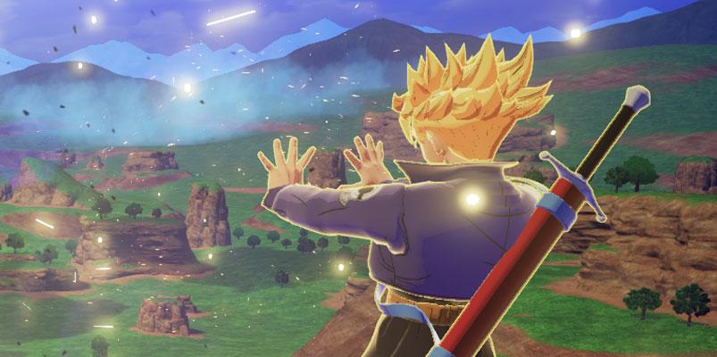 Trunks también peleará en DRAGON BALL Z: Kakarot y así luce