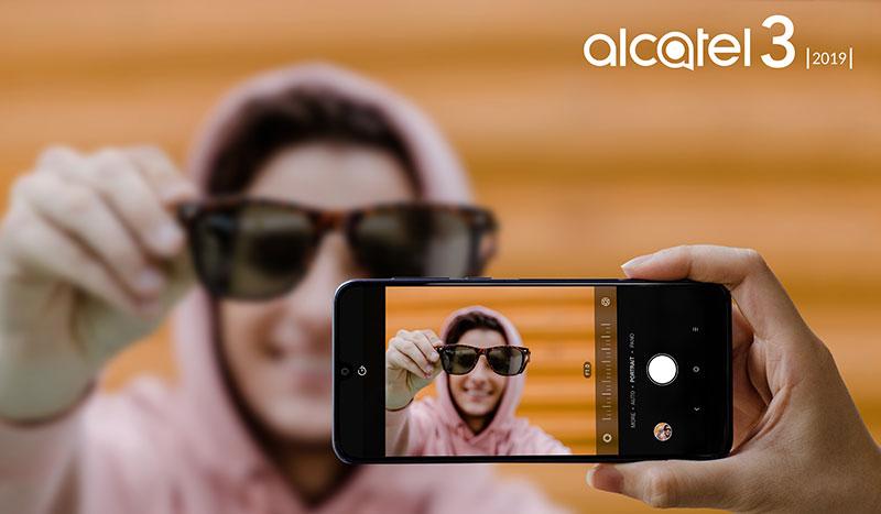Alcatel 3 2019 Mexico camara