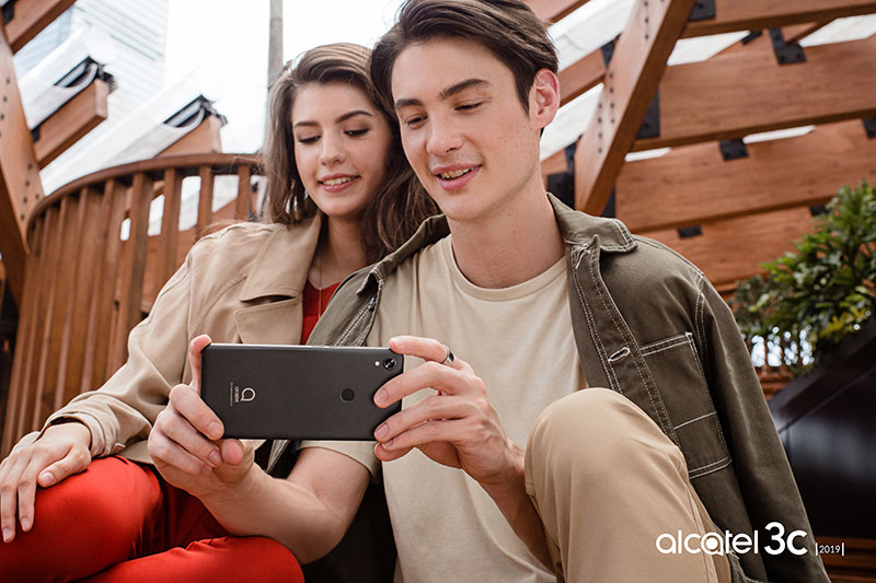 Alcatel 3C 2019 camara