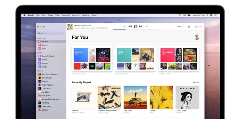 Disfruta la música de Apple Music desde tu navegador web