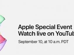 Apple presentacion YouTube