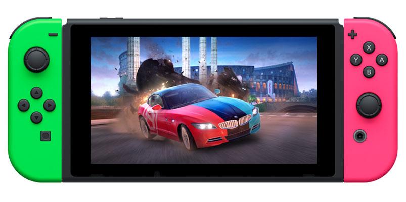 Asphalt 9: Legends para Nintendo Switch llegará con casi 60 vehículos