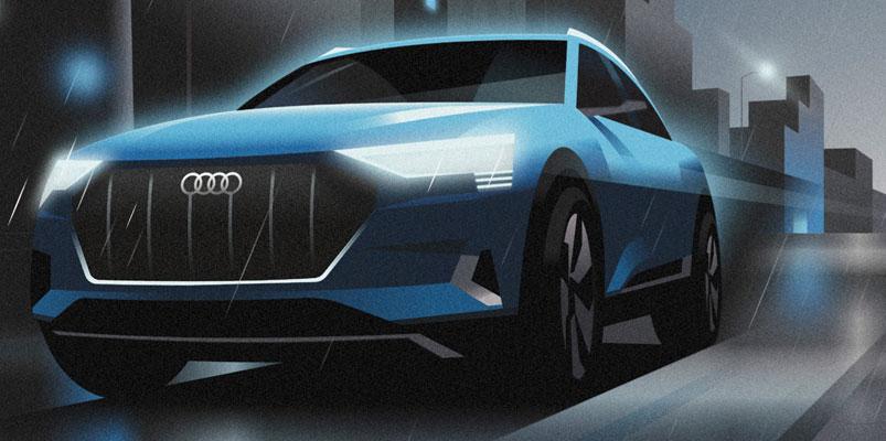Audi e-tron, vehículo oficial del Festival de San Sebastián