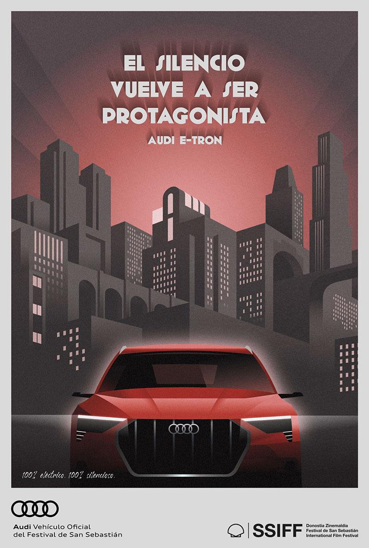 Audi e-tron Festival de San Sebastian poster