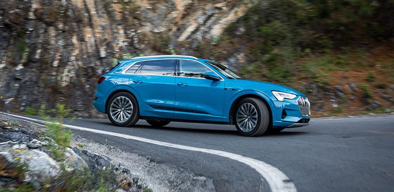 Audi e-tron Mexico costado