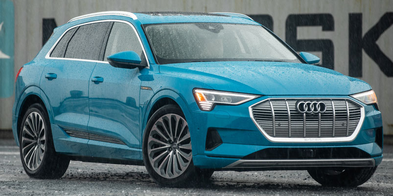 Audi e-tron Mexico frente
