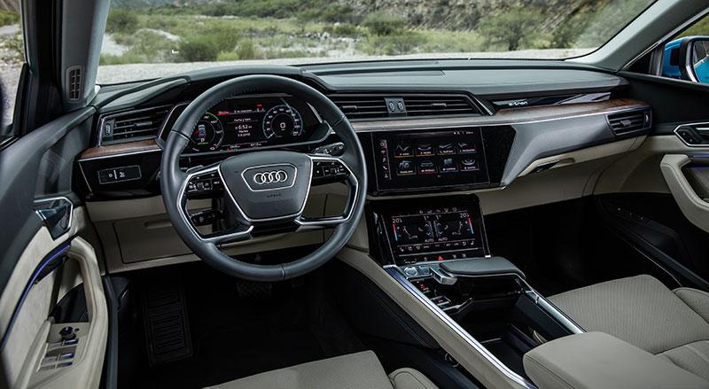 Audi e-tron Mexico interior