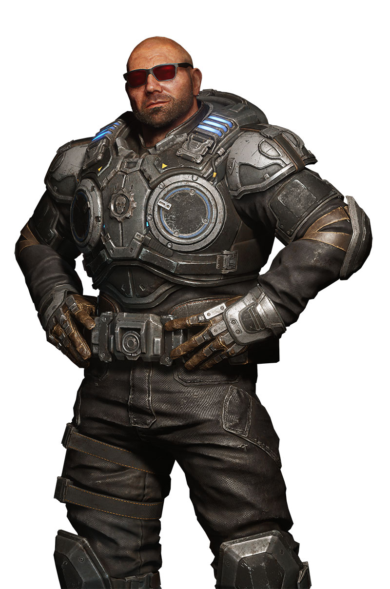 Batista Gears 5 arte