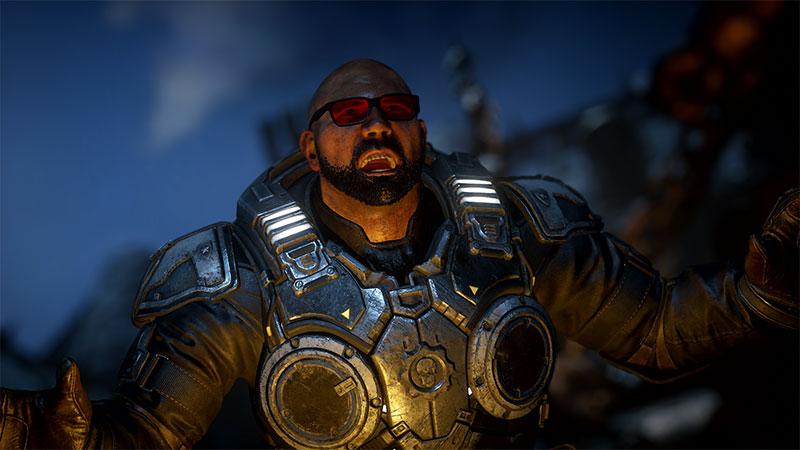 Batista Gears 5 contenido