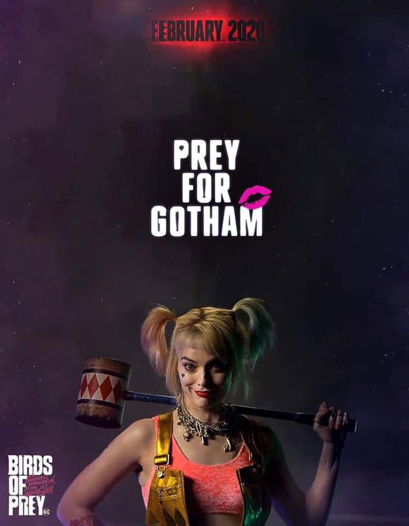Birds of Prey Poster filtrado