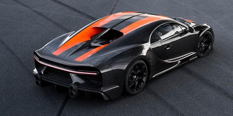 Bugatti Chiron velocidad 490 km/h