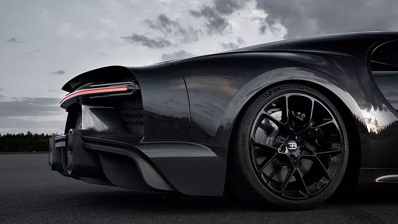 Bugatti Chiron Sport rapido