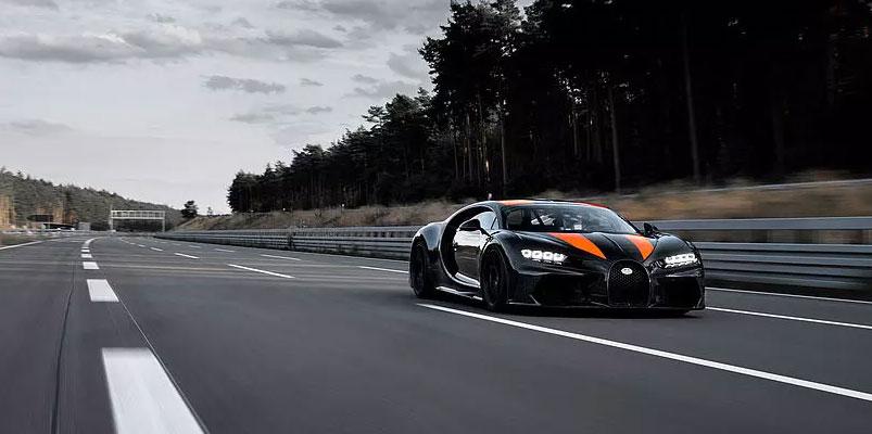 Bugatti Chiron pista Ehra Liessen
