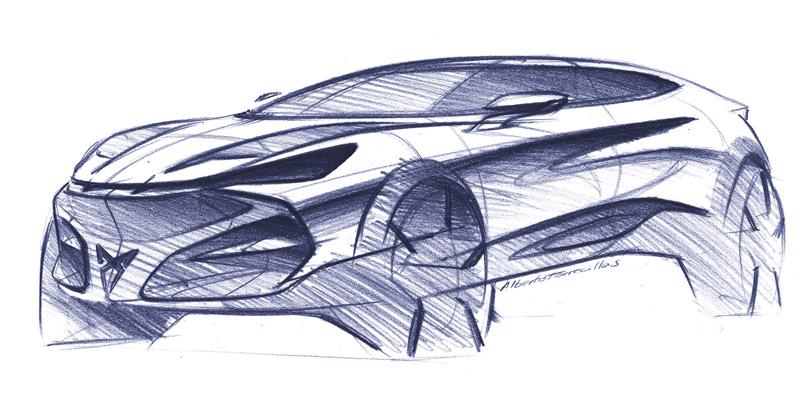 CUPRA muestra las cualidades de diseño de CUPRA Tavascan
