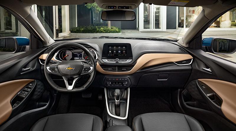 Chevrolet Onix 2020 Mexico interior