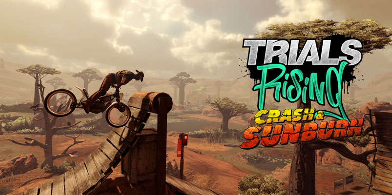 Crash & Sunburn y Welcome to the Future llegan a Trials Rising