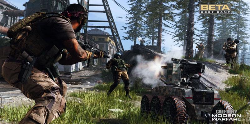 Lista la beta abierta con Crossplay de Modern Warfare