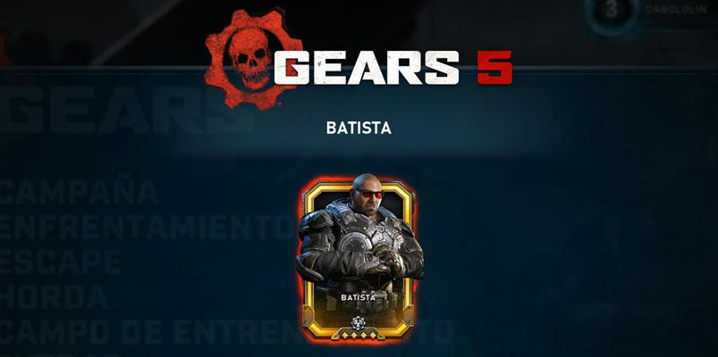 Dave Bautista ya está disponible en Gears 5 y así lo consigues