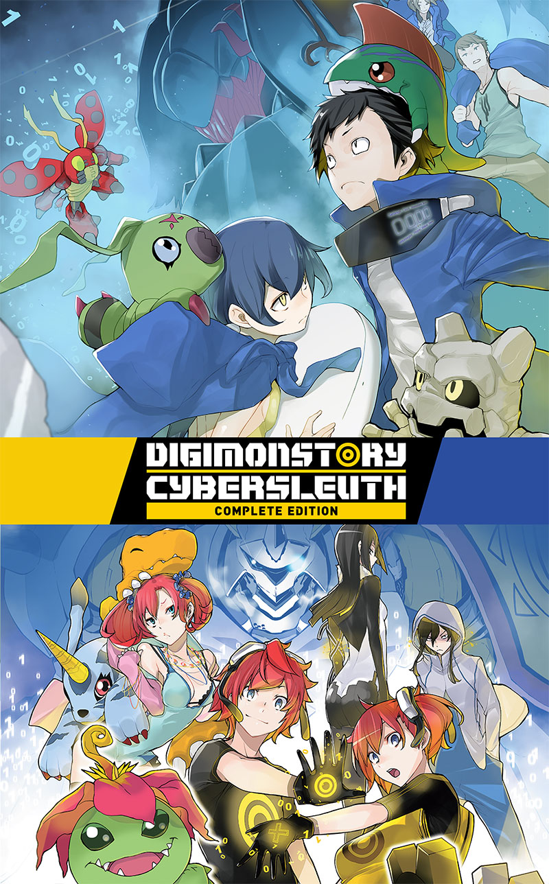 Digimon Story Cyber Sleuth Complete Edition Arte