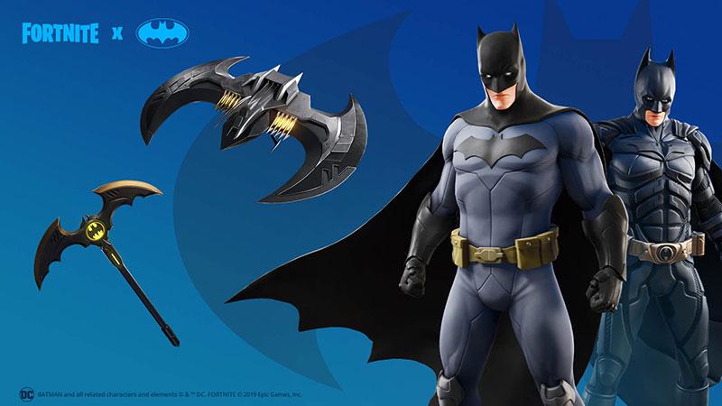 Fortnite x Batman Caballero Encapuchado