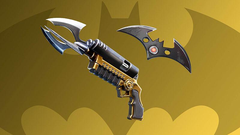 Batman x Fortnite armas