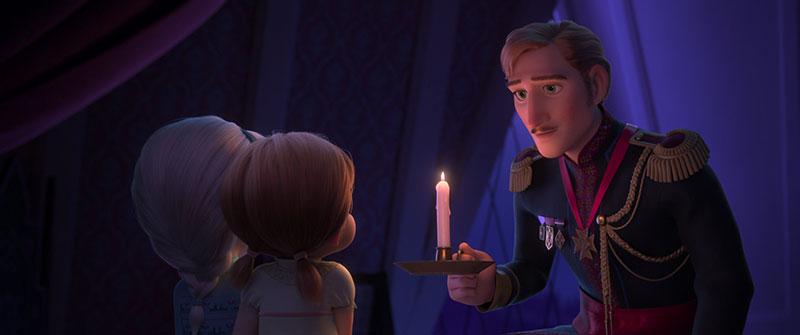 Frozen 2 Elsa Anna Papa