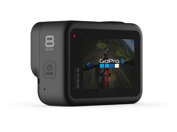 GoPro Hero 8 Black leak atras