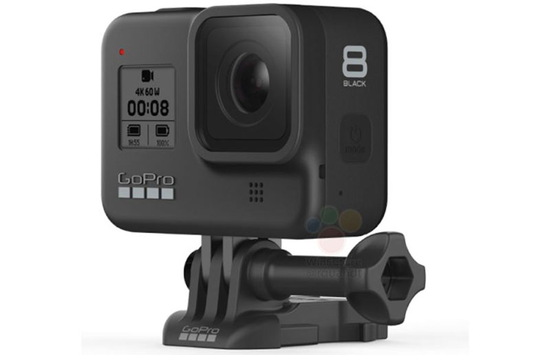 GoPro Hero 8 Black leak montura