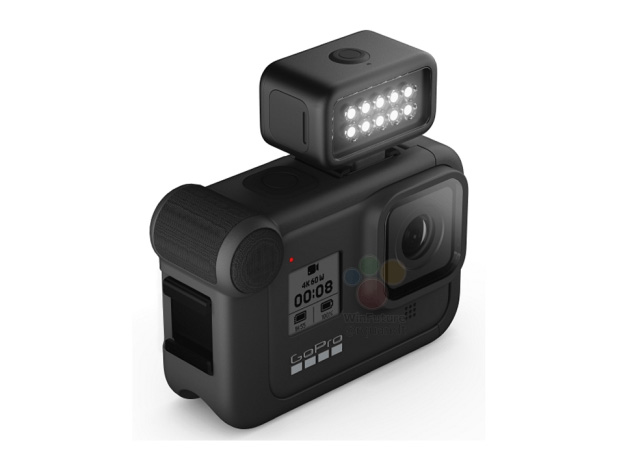 GoPro Hero 8 Black Light Mod leak arriba
