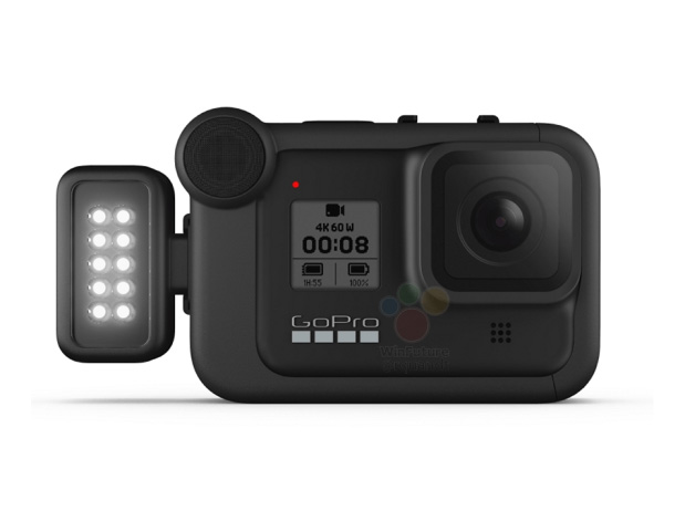 GoPro Hero 8 Black Light Mod leak lado